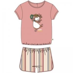 Damespyjama logo