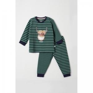 Pyjama baby jongen logo